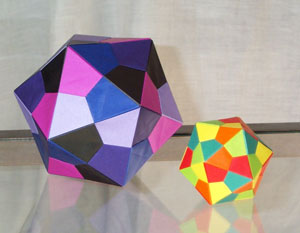 Icosahedron Modular Origami : 7 Steps (with Pictures) - Instructables | 233x300